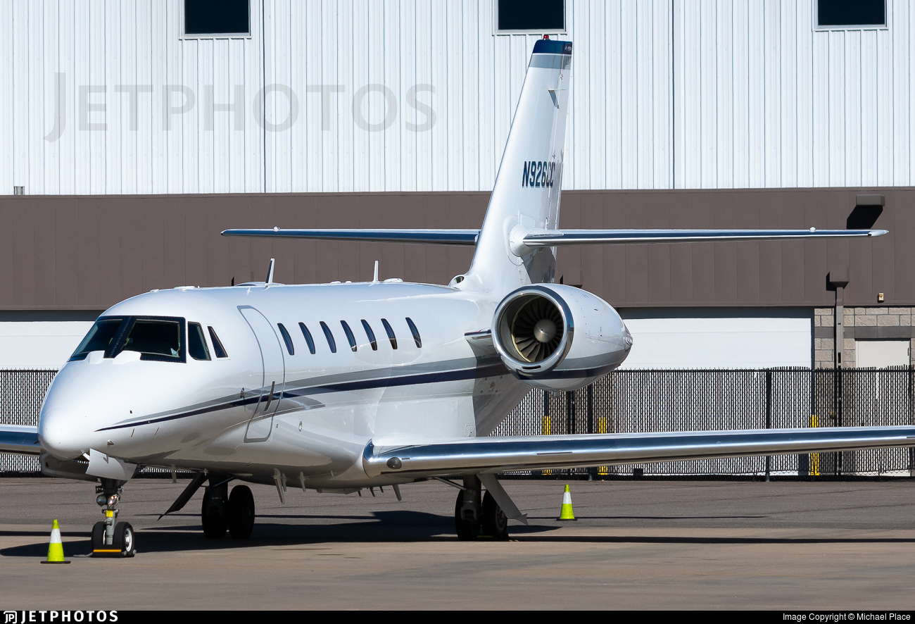 N926CC - Cessna 680 Citation Sovereign - Private