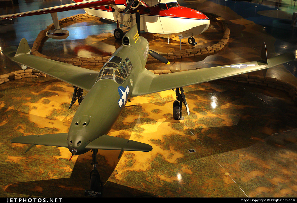 42-78846 - Curtiss XP-55 Ascender - United States - US Army Air Force (USAAF)