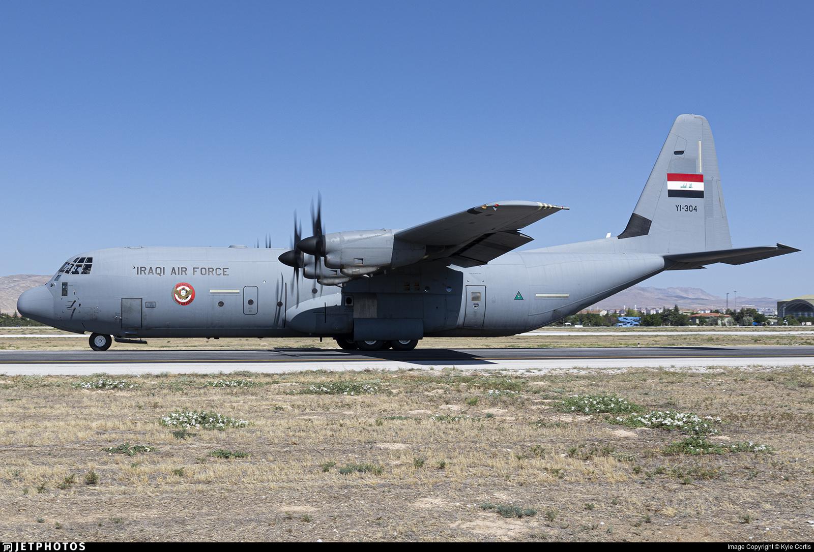 YI-304 - Lockheed Martin C-130J-30 Hercules - Iraq - Air Force