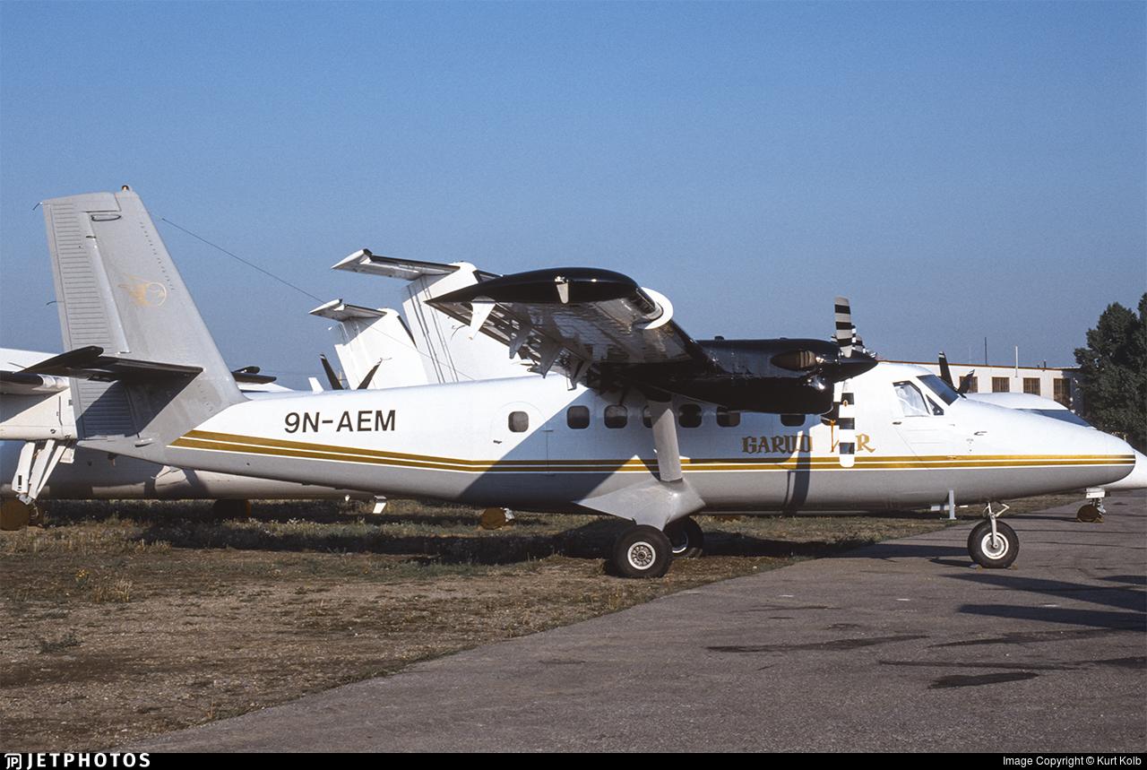 9N-AEM - De Havilland Canada DHC-6-300 Twin Otter - Garud Air