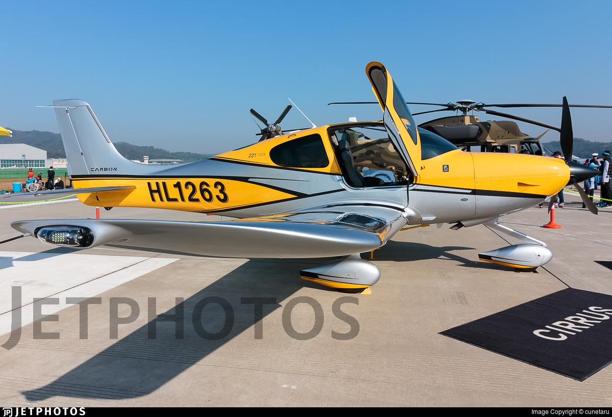 HL1263 - Cirrus SR22 - Private