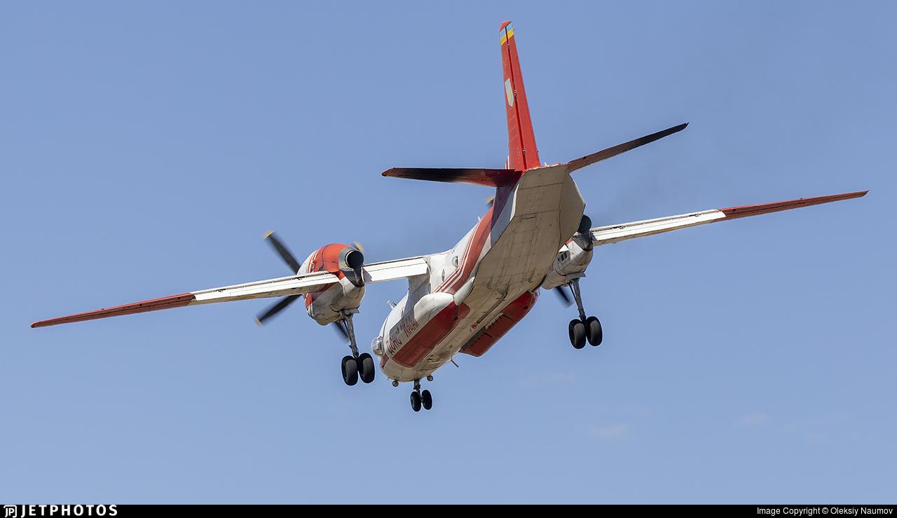 32 - Antonov An-32P - Ukraine - State Emergency Service