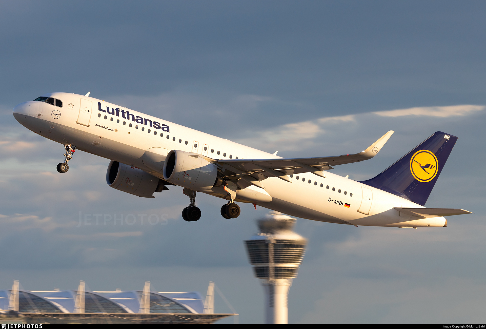 D-AINB - Airbus A320-271N - Lufthansa