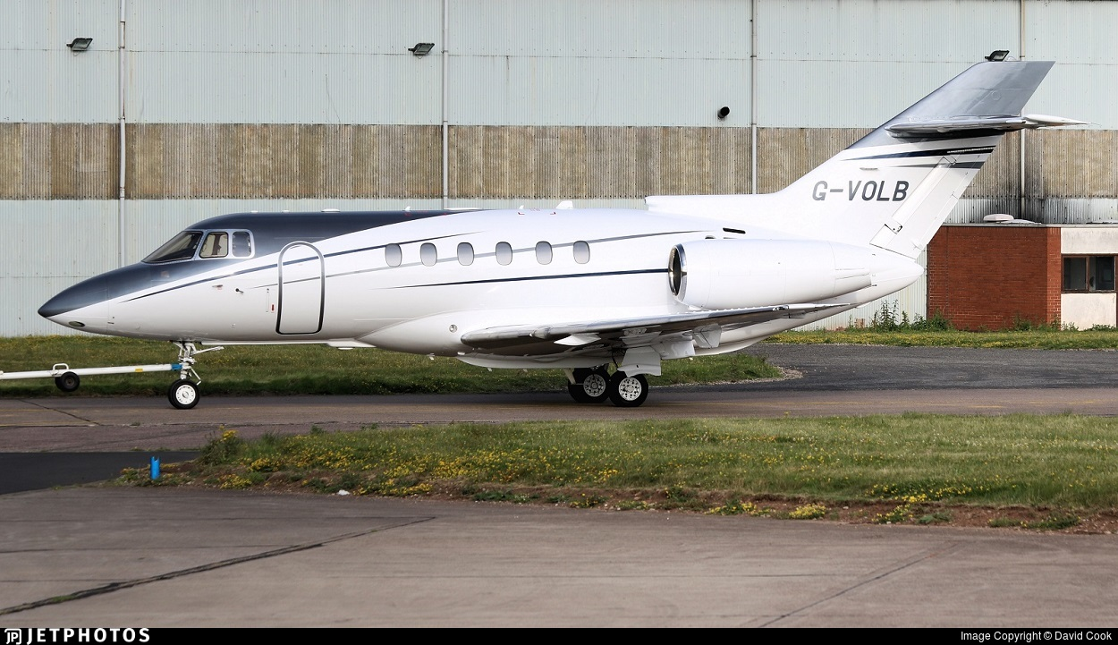G-VOLB - Raytheon Hawker 800XP - Private