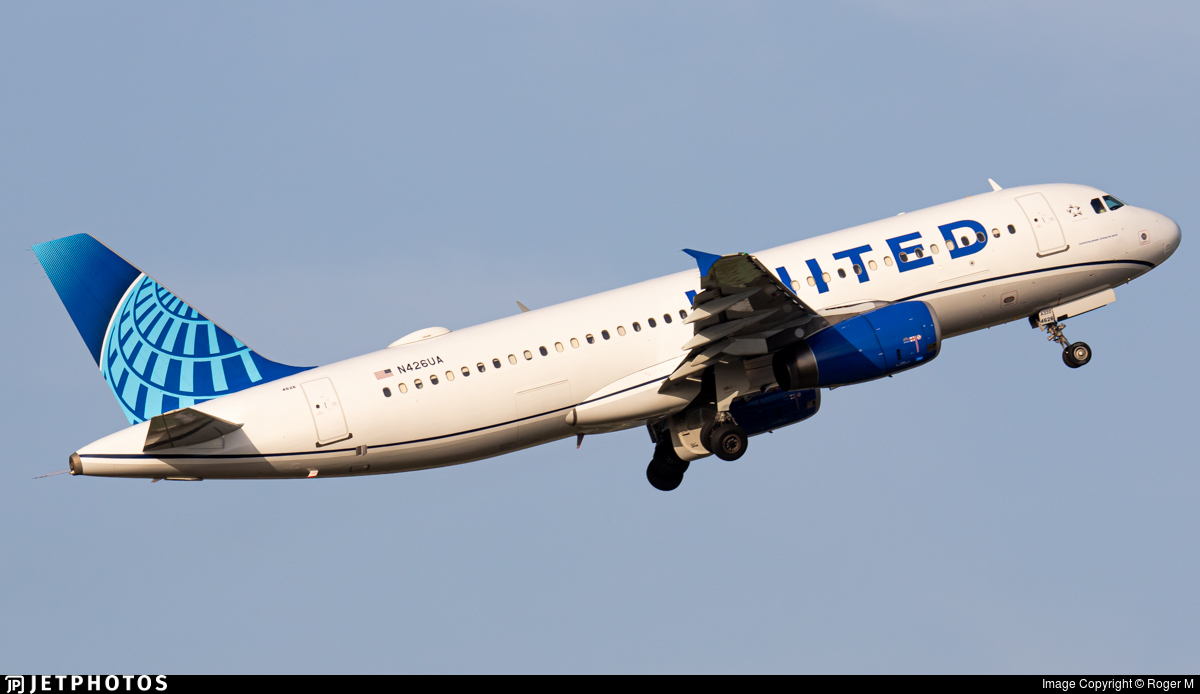 N426UA - Airbus A320-232 - United Airlines