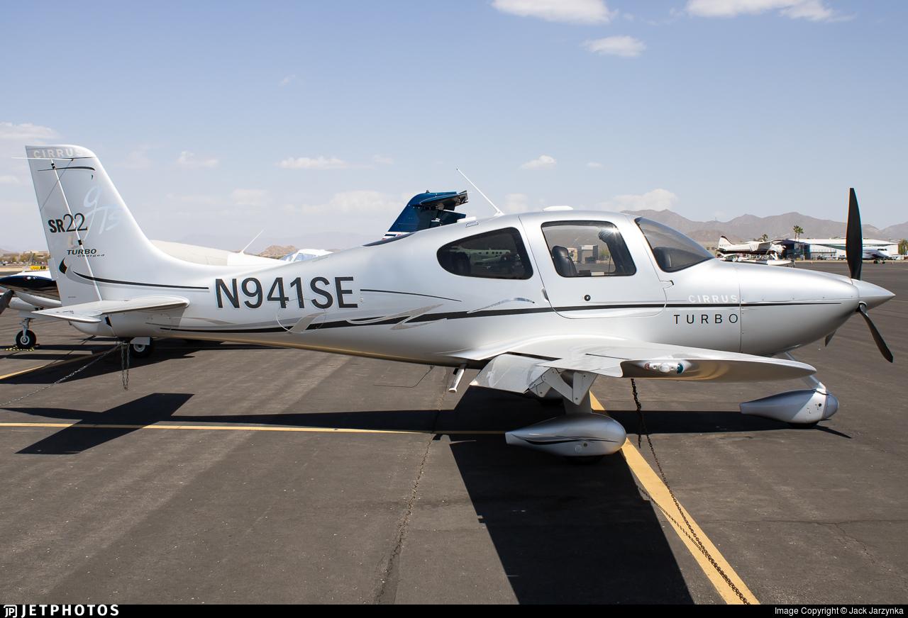 N941SE - Cirrus SR22 G3 Turbo GTS - Private