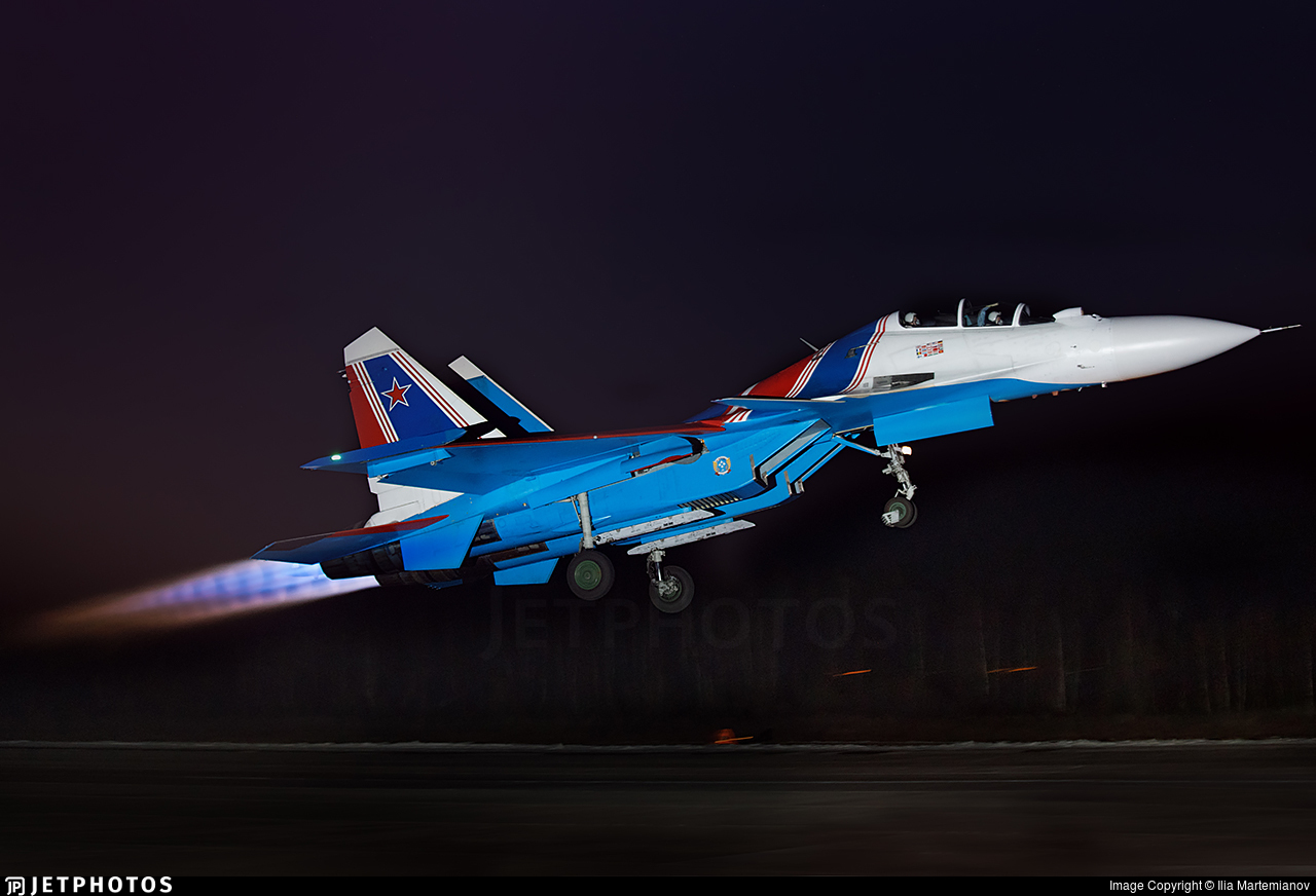 RF-81701 - Sukhoi Su-30SM - Russia - Air Force