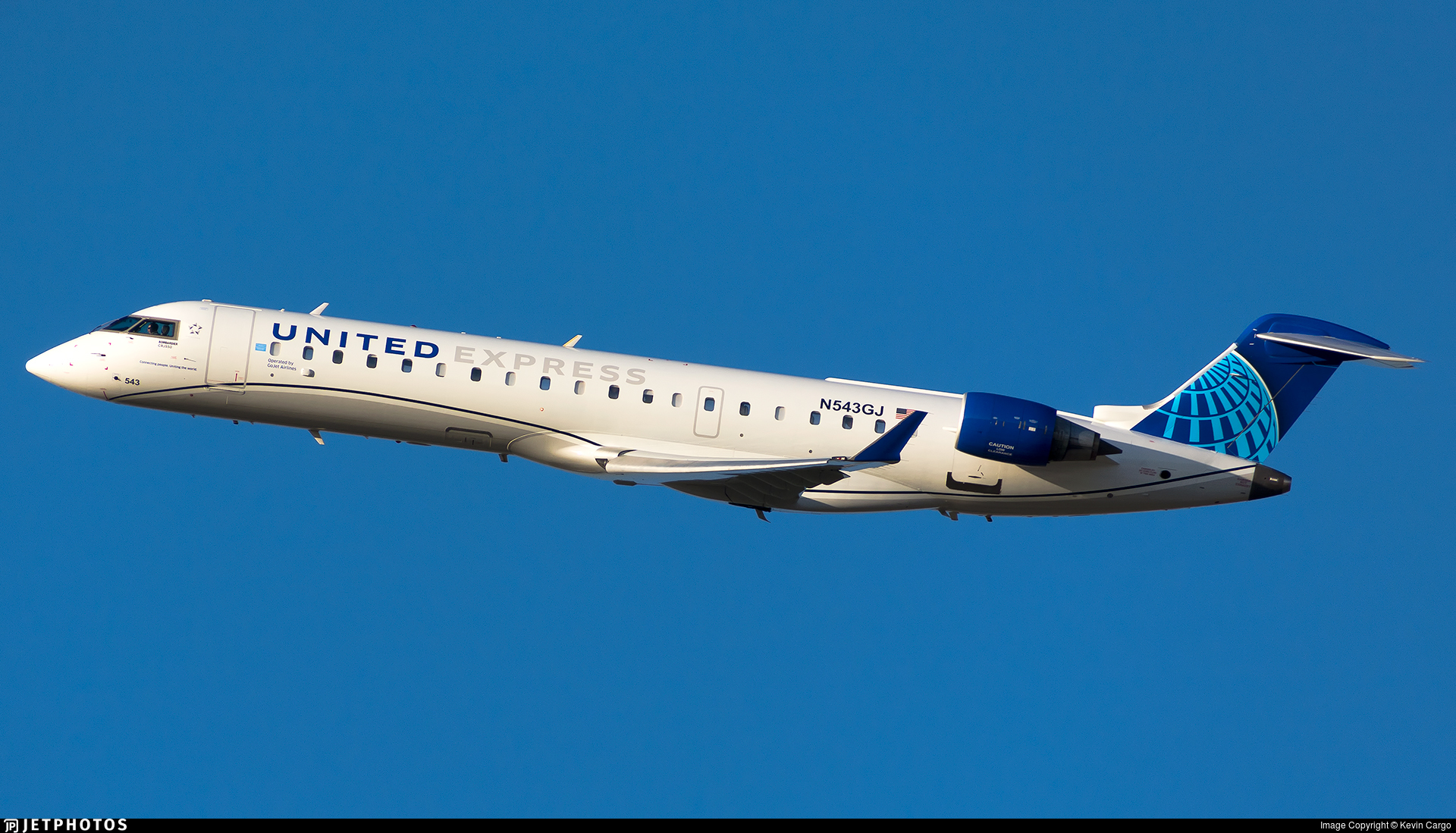 N543GJ - Bombardier CRJ-550 - United Express (GoJet Airlines)
