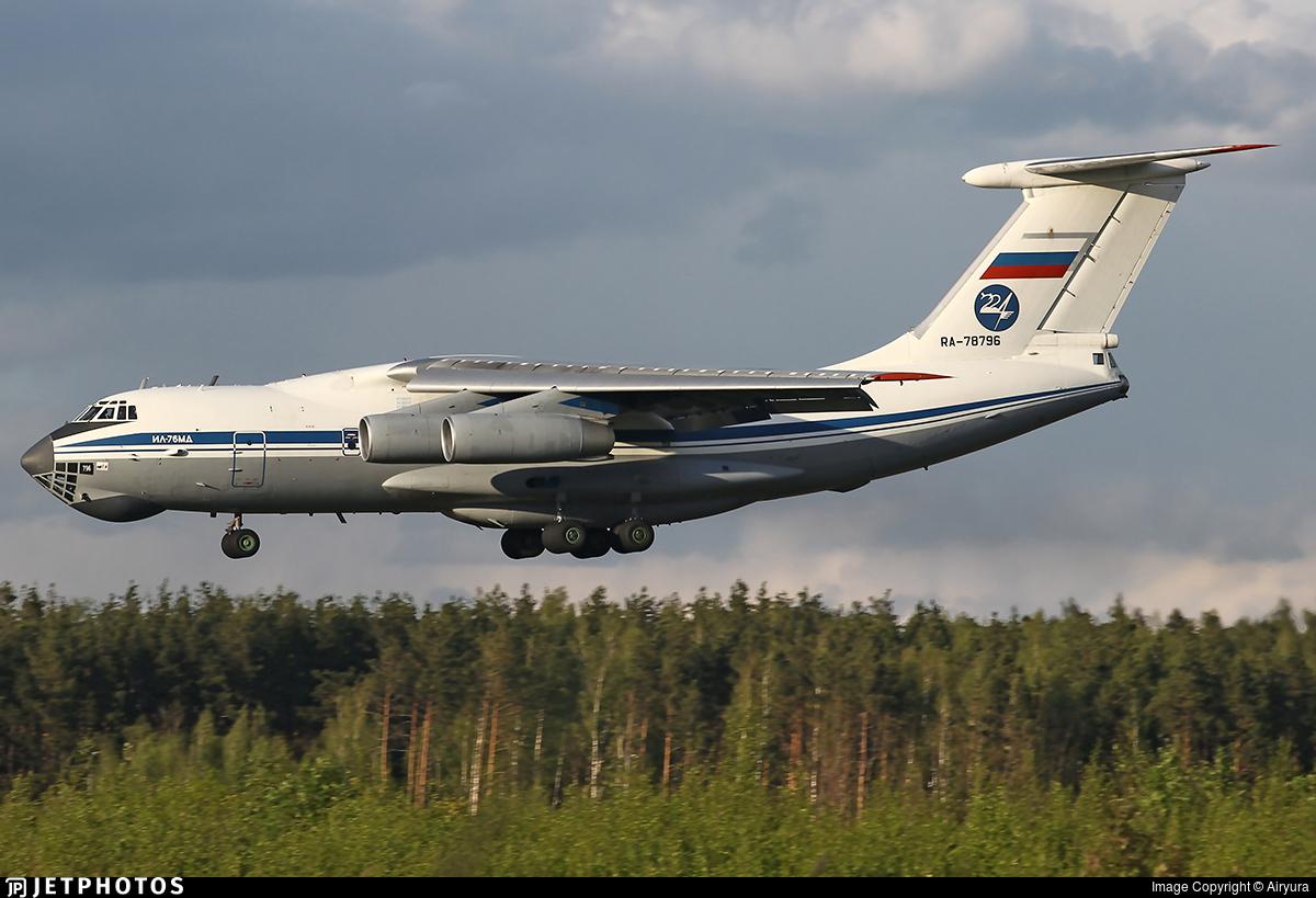 RA-78796 - Ilyushin IL-76MD - Russia - 224th Flight Unit State Airline