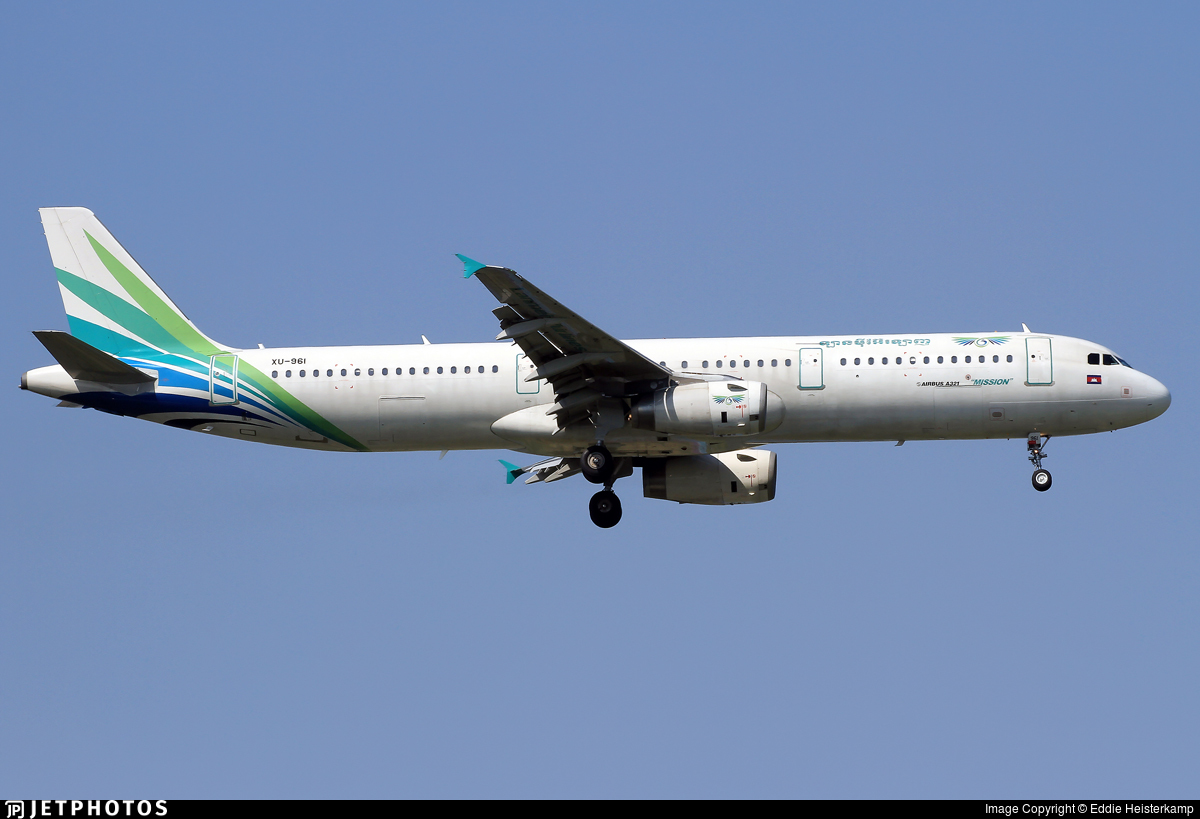 XU-961 - Airbus A321-231 - Lanmei Airlines