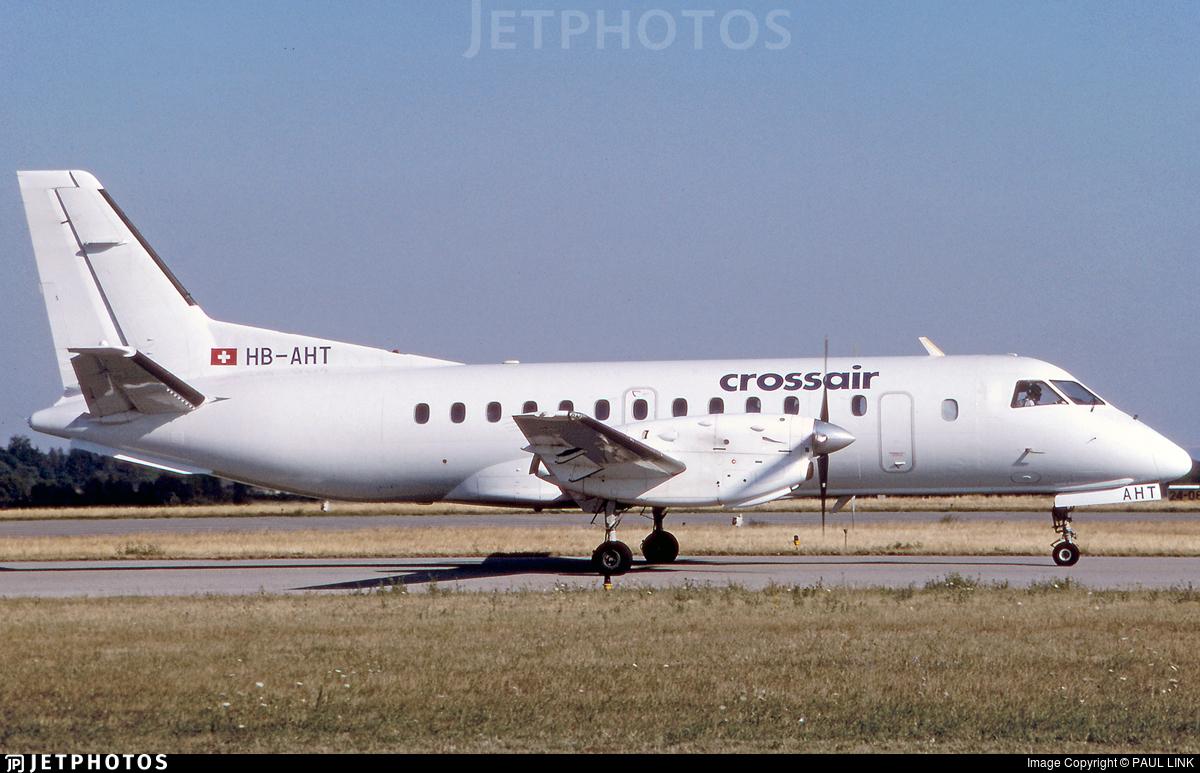 HB-AHT - Saab 340A - Crossair
