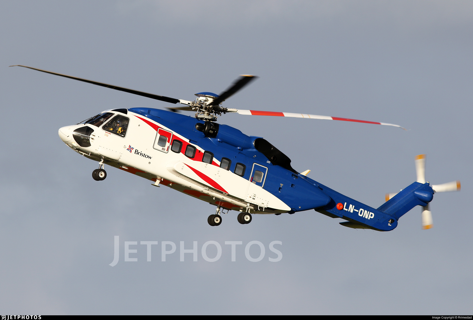 LN-ONP - Sikorsky S-92A Helibus - Bristow Norway