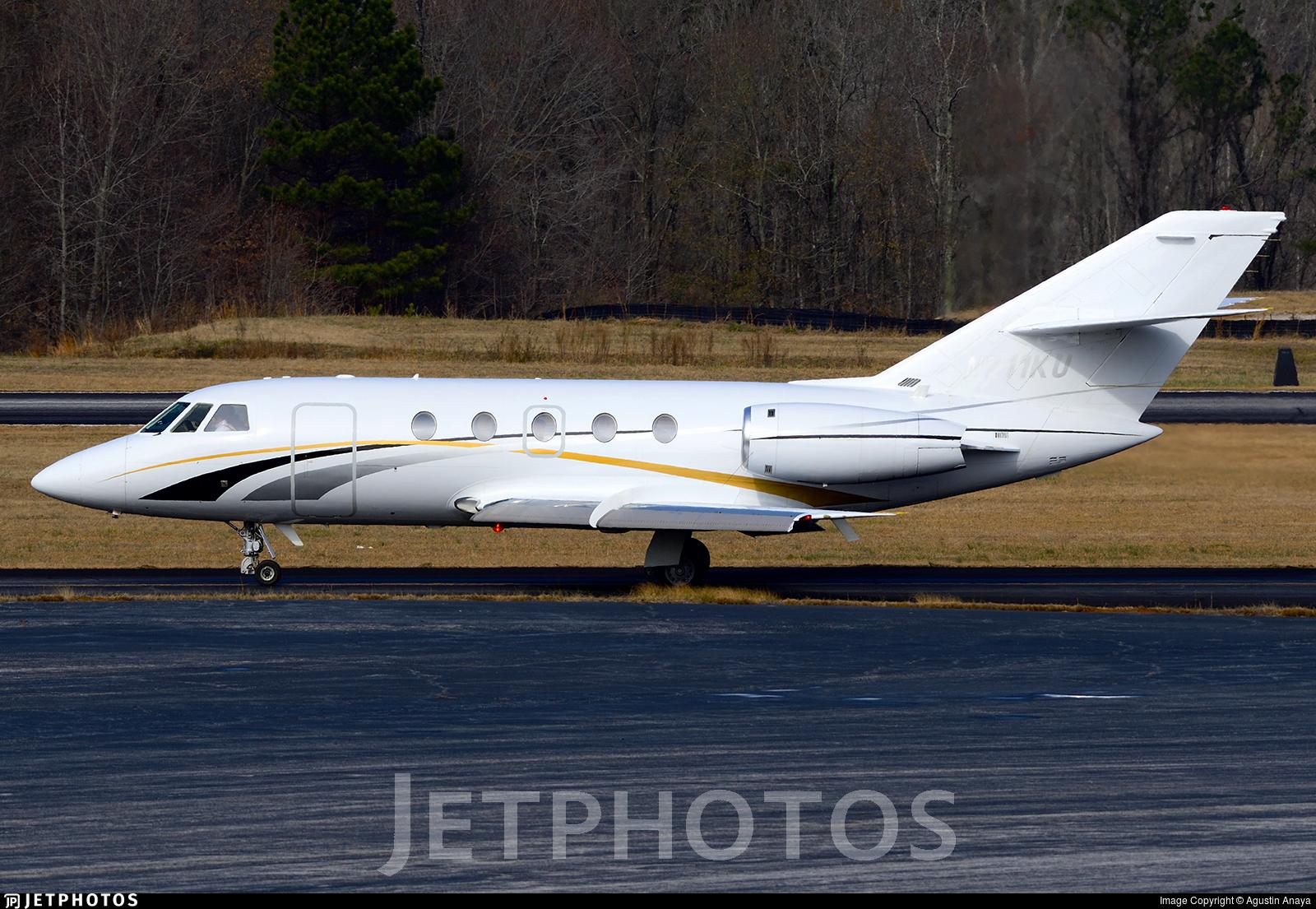 N711KU - Dassault Falcon 20F - Private