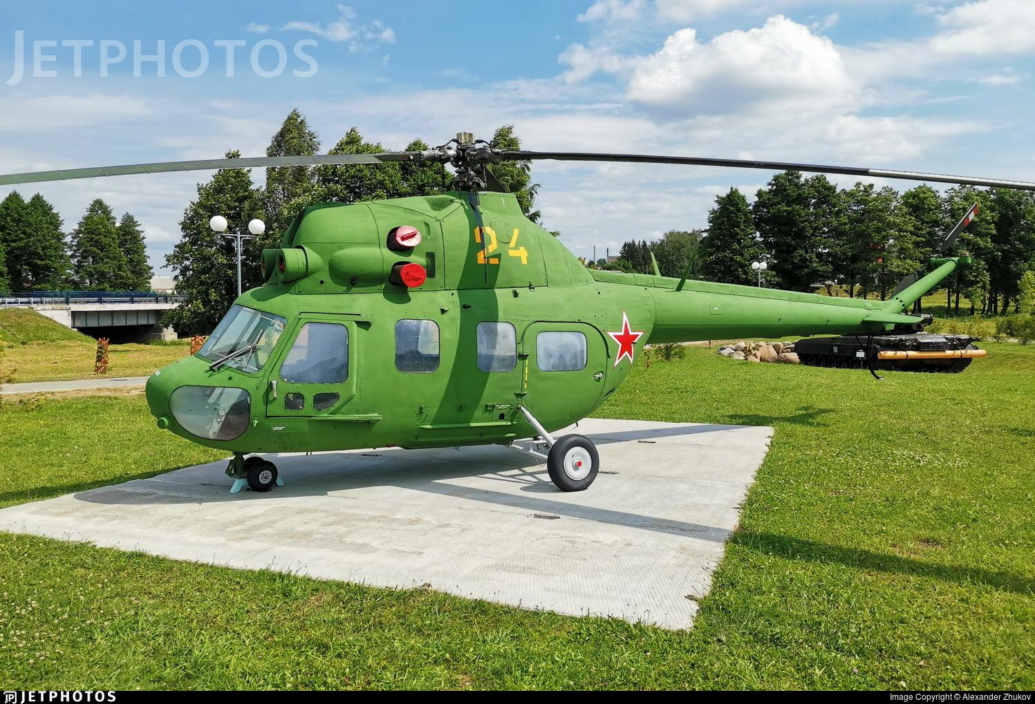 24 - PZL-Swidnik Mi-2 Hoplite - Belarus - DOSAAF