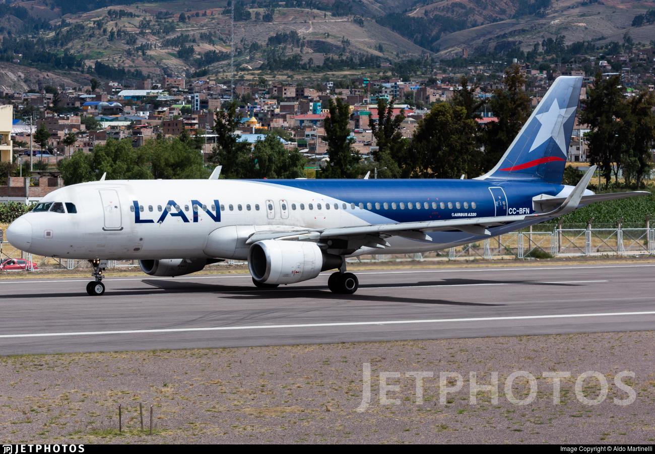 CC-BFN - Airbus A320-214 - LAN Airlines