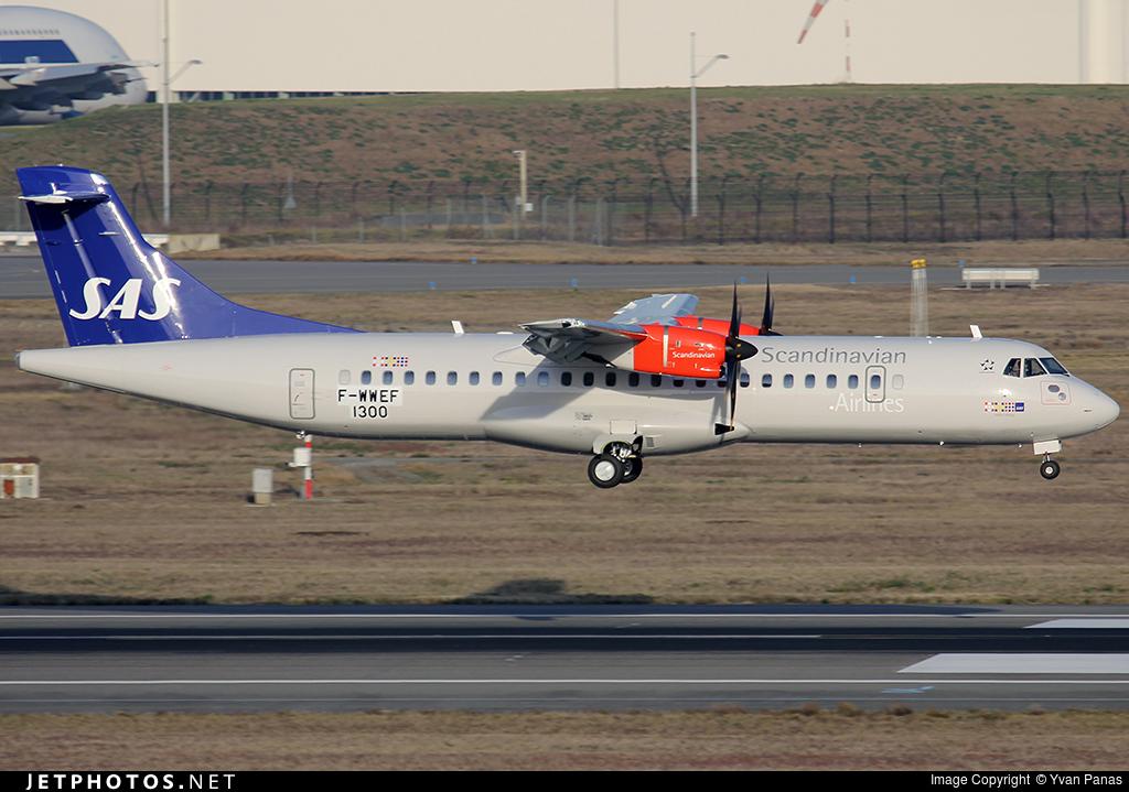 F-WWEF - ATR 72-212A(600) - Scandinavian Airlines (Flybe)