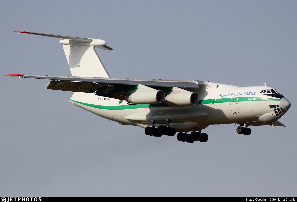 7T-WIG - Ilyushin IL-76 - Algeria - Air Force