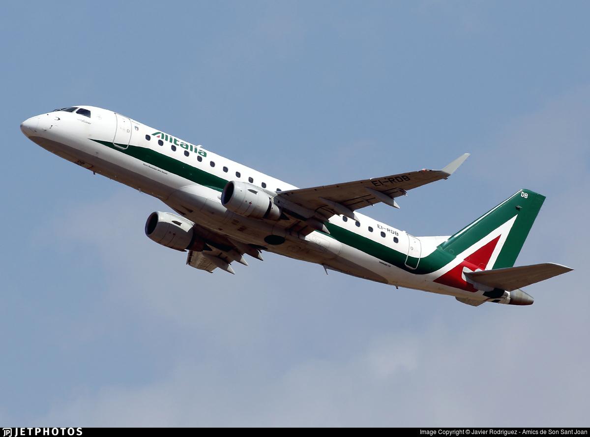 EI-RDB - Embraer 170-200STD - Alitalia CityLiner