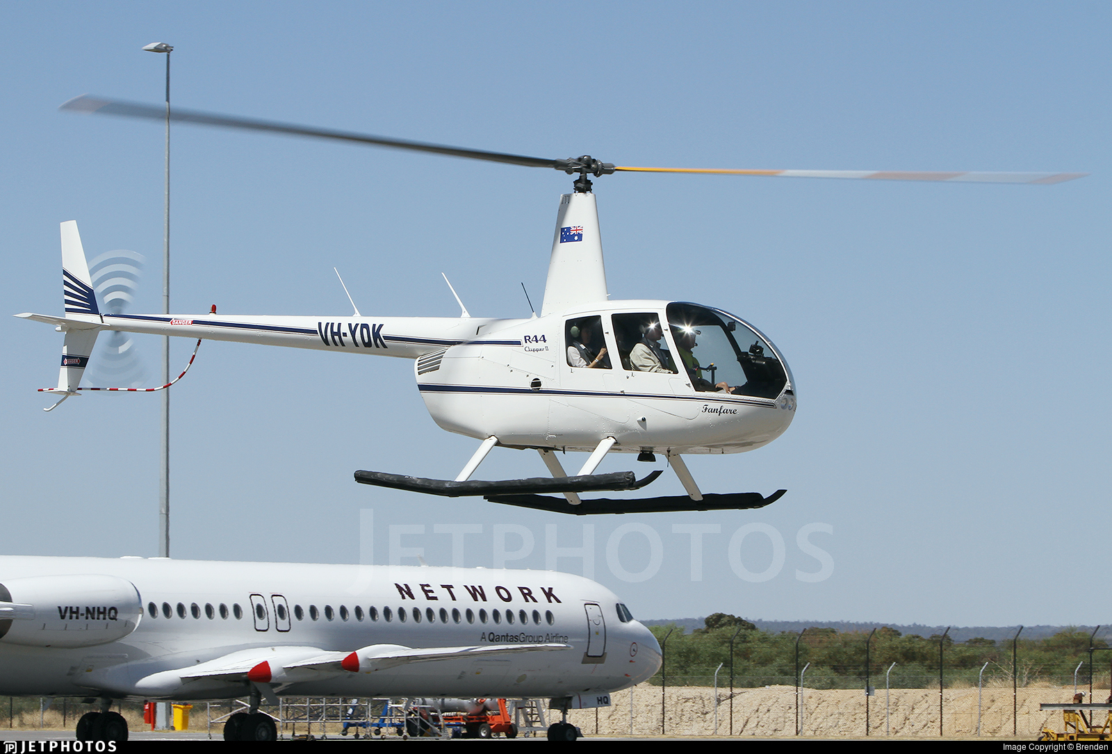 VH-YDK - Robinson R44 Clipper II - Private
