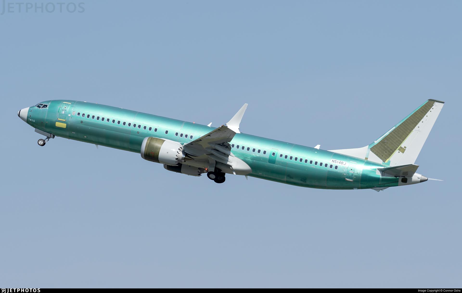 N514BJ - Boeing 737-9 MAX - Boeing Company