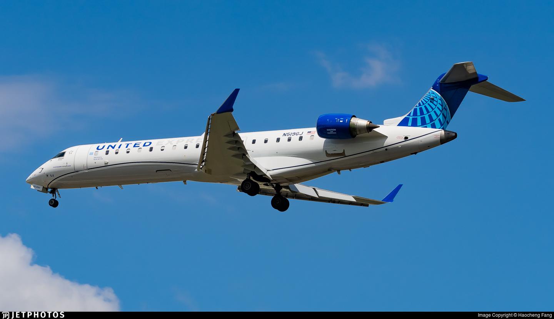 N519GJ - Bombardier CRJ-550 - United Express (GoJet Airlines)