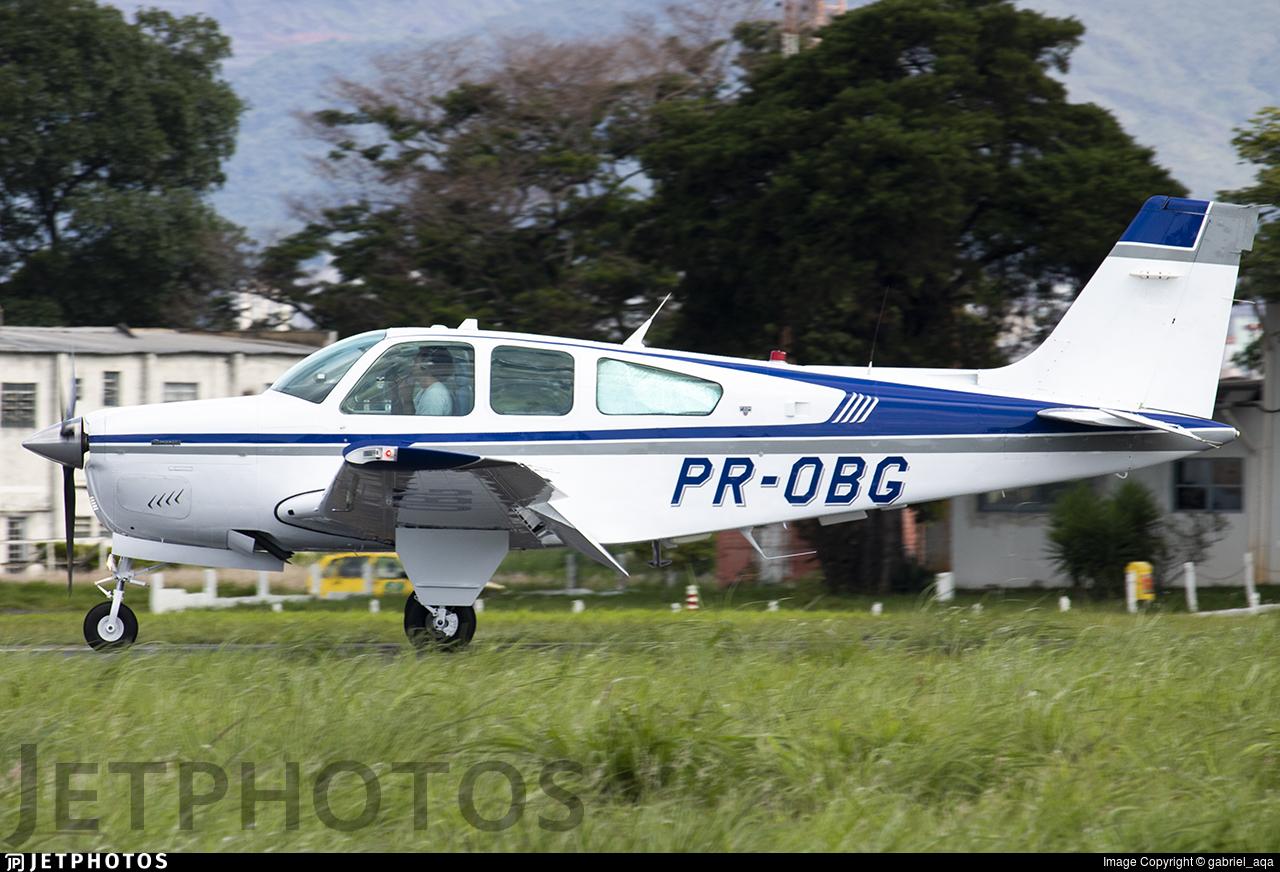 PR-OBG - Beechcraft E33A Bonanza - Private