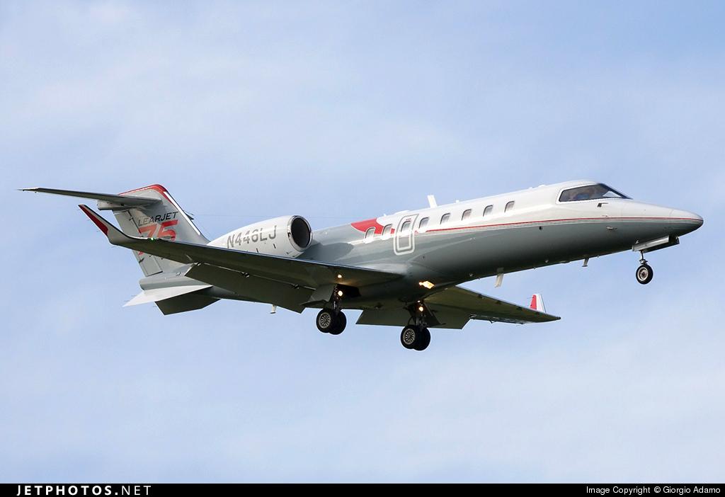 N446LJ - Bombardier Learjet 45XR - Global Flight