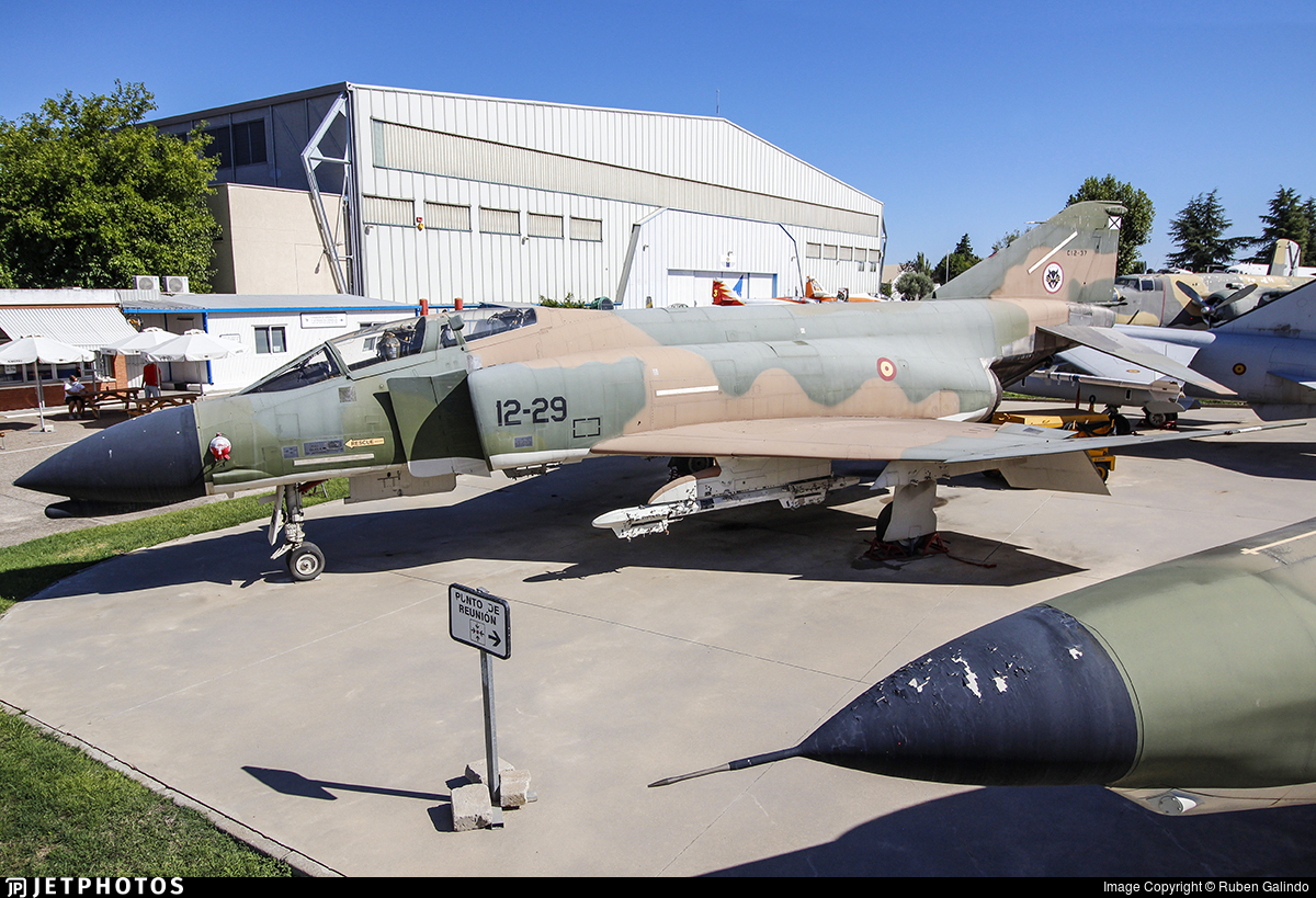 C.12-37 - McDonnell Douglas F-4C Phantom II - Spain - Air Force