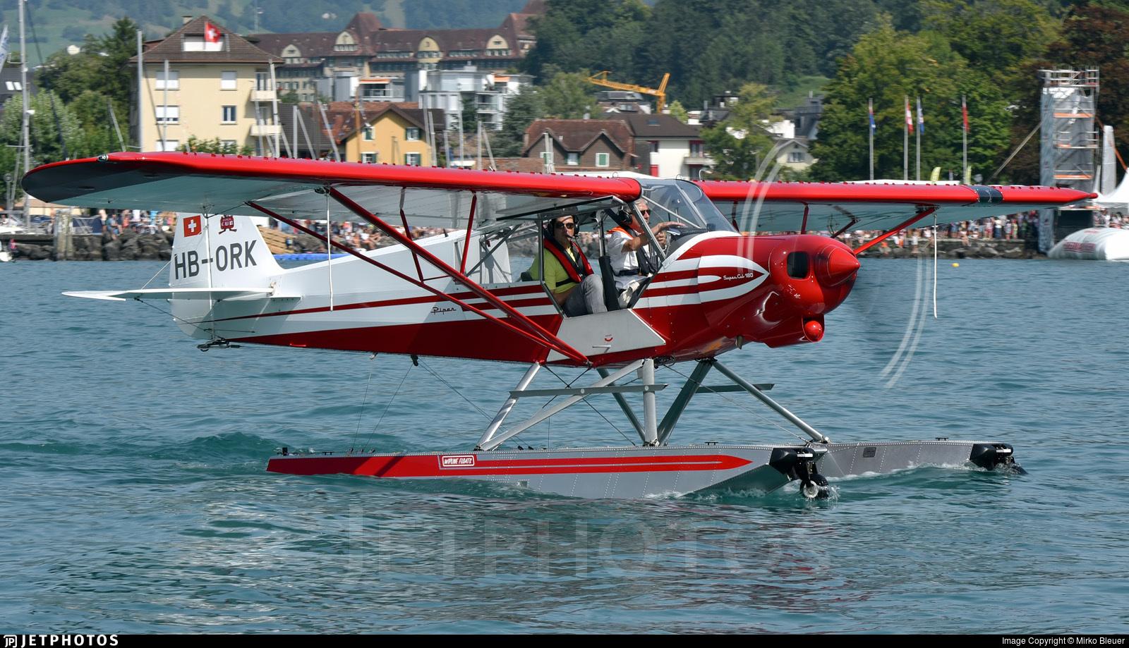 HB-ORK - Piper PA-18-150 Super Cub - Private