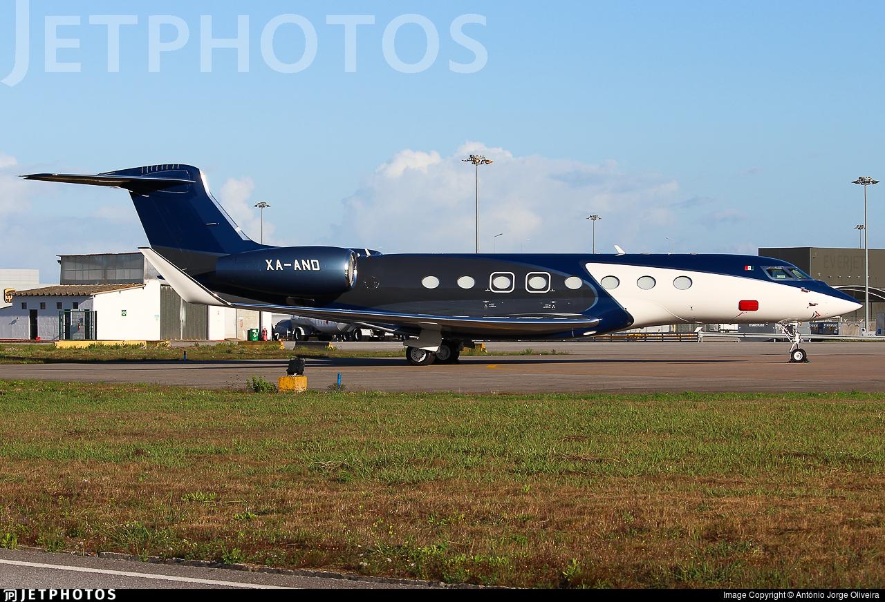 XA-AND - Gulfstream G650 - Private