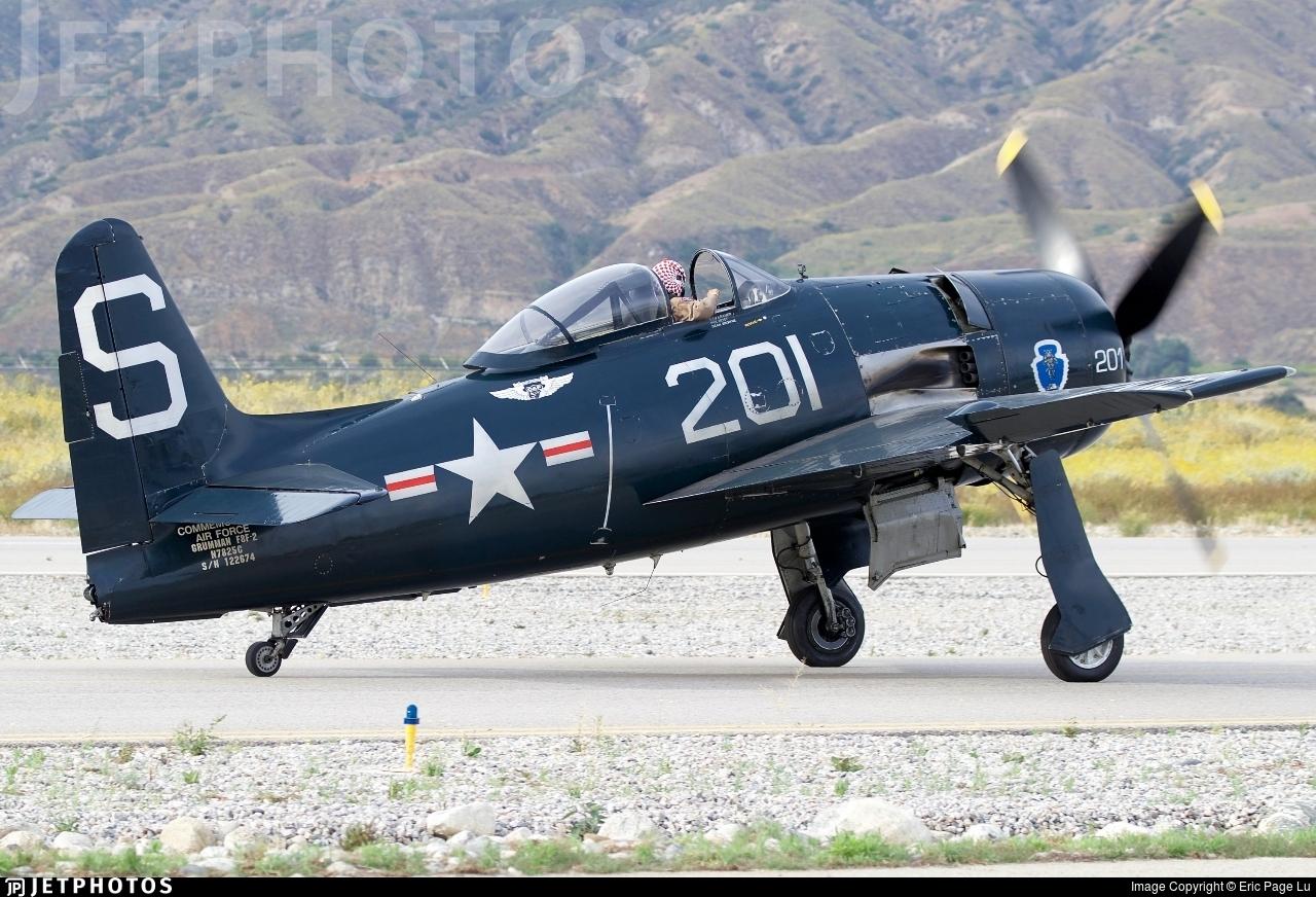 N7825C - Grumman F8F-2P Bearcat - Commemorative Air Force