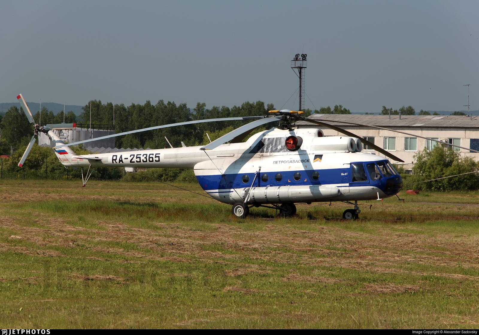 RA-25365 - Mil Mi-8T Hip C - Petropavlovsk PLC