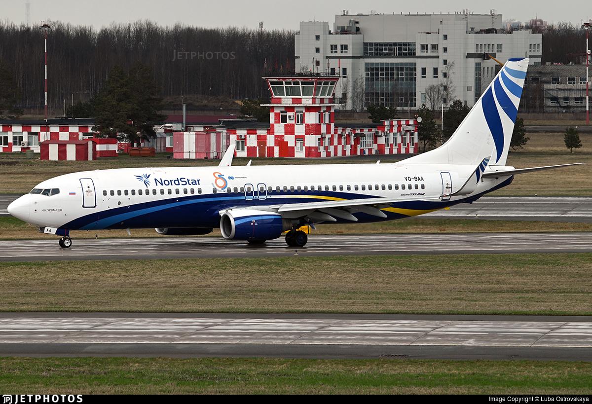 VQ-BAA - Boeing 737-86N - Nordstar