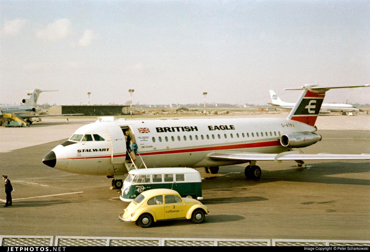 G-ATPJ - British Aircraft Corporation BAC 1-11 Series 301AG - British Eagle International Airlines