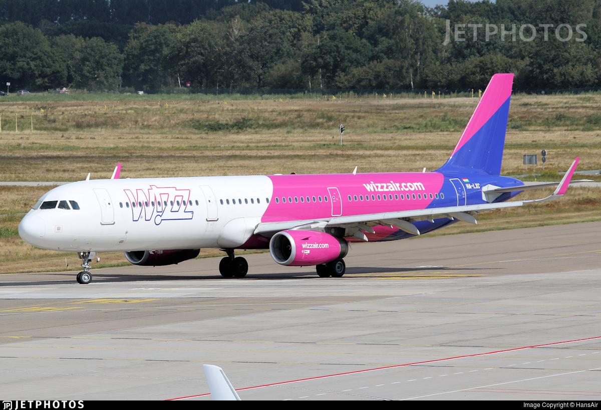 HA-LXC - Airbus A321-231 - Wizz Air
