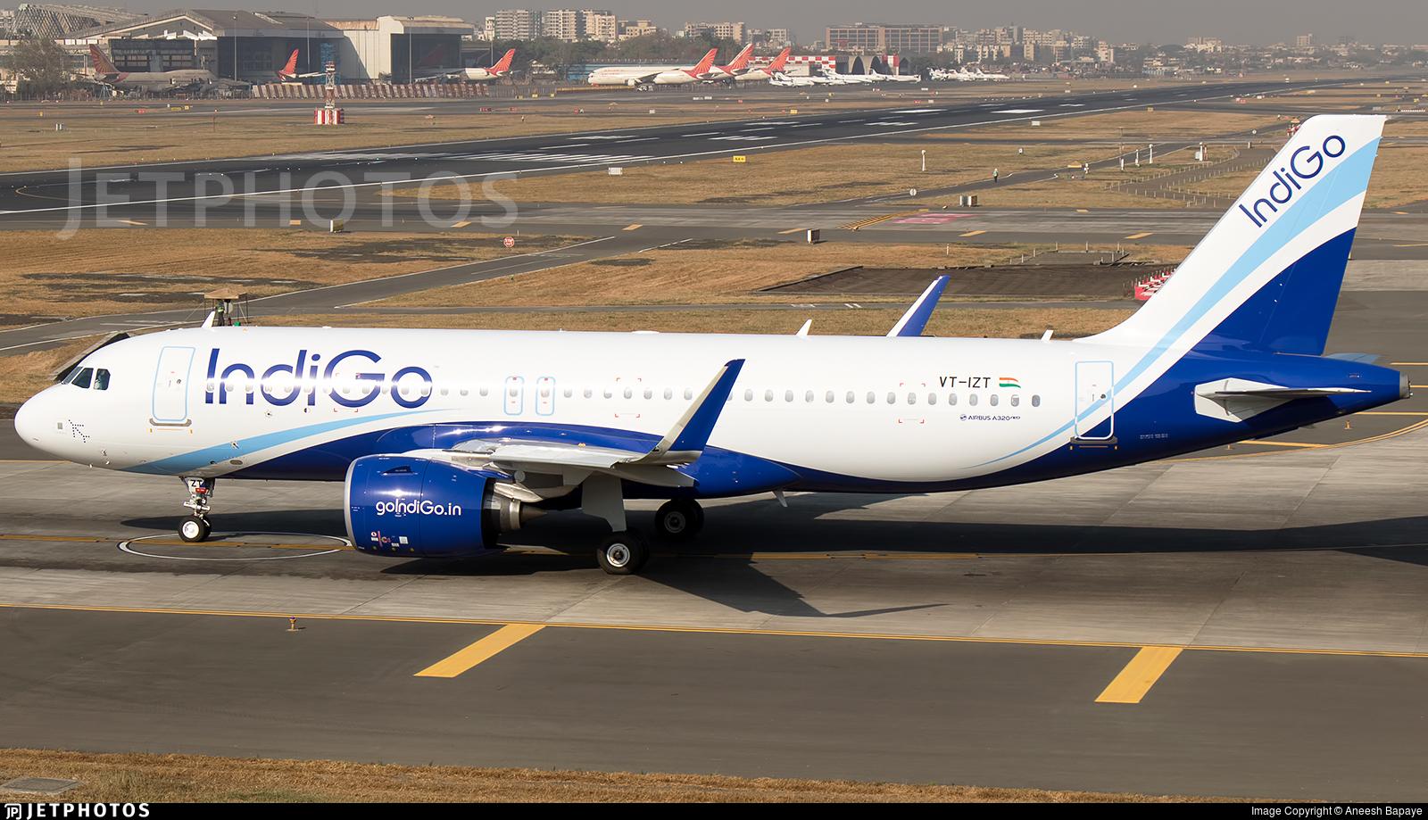 VT-IZT - Airbus A320-271N - IndiGo Airlines