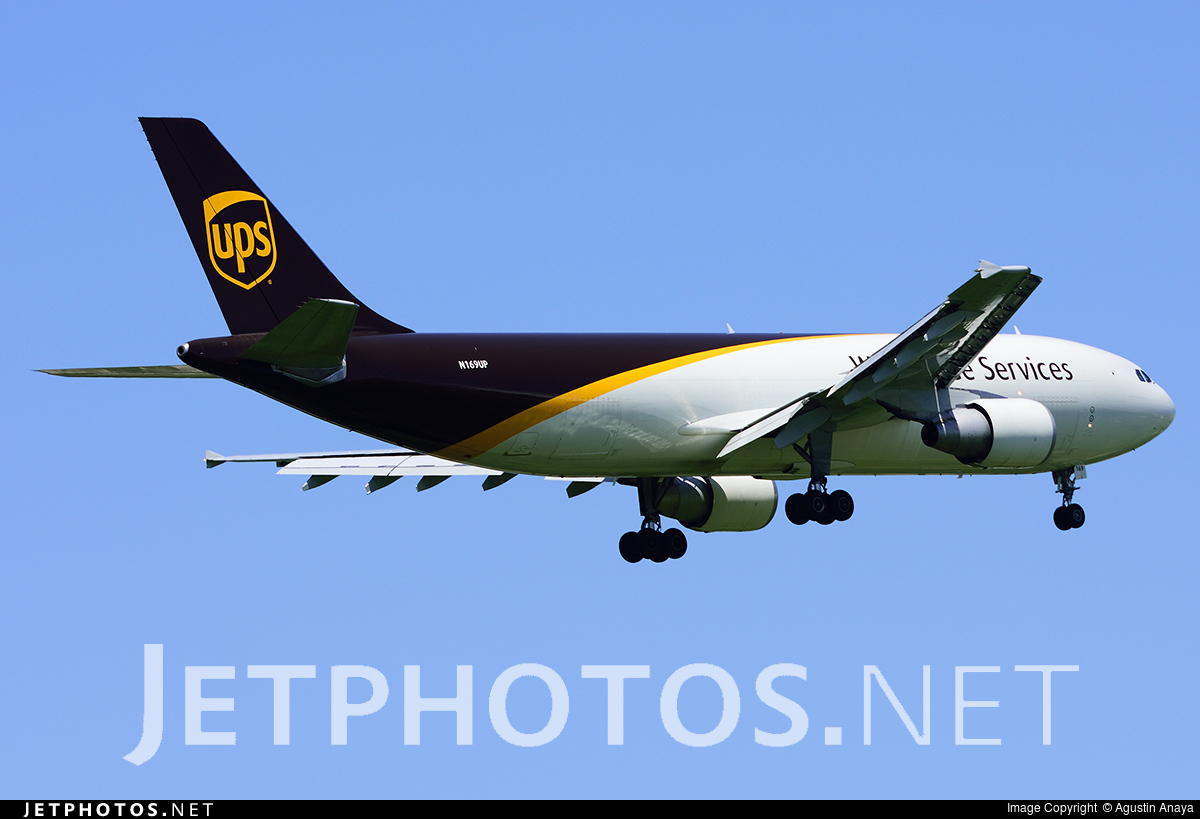 N169UP - Airbus A300F4-622R - United Parcel Service (UPS)