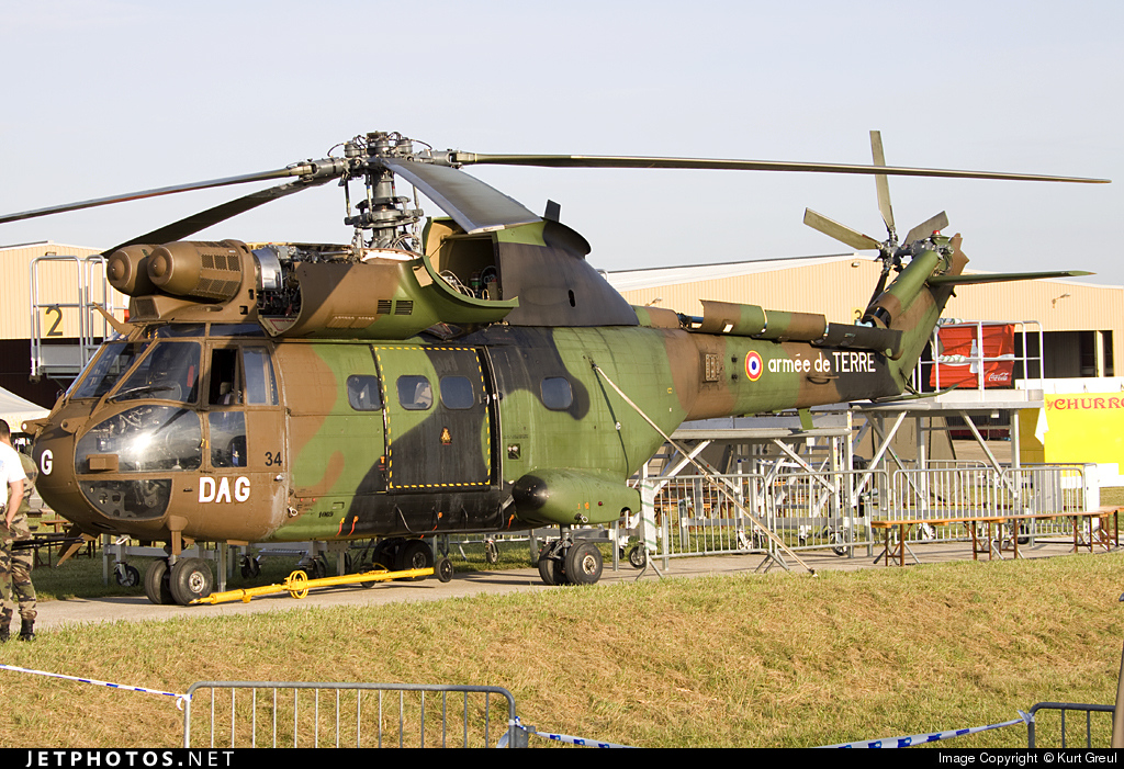 1069 - Aérospatiale SA 330B Puma - France - Army