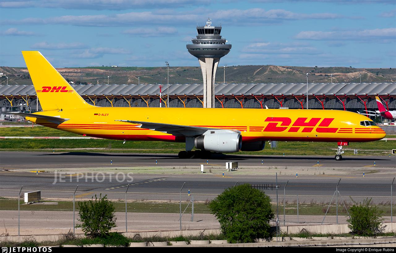 D-ALEV - Boeing 757-28A(PCF) - DHL (European Air Transport)