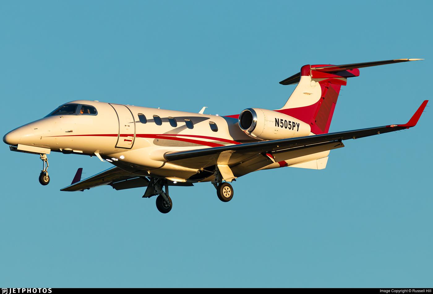 N505PY - Embraer 505 Phenom 300 - Private