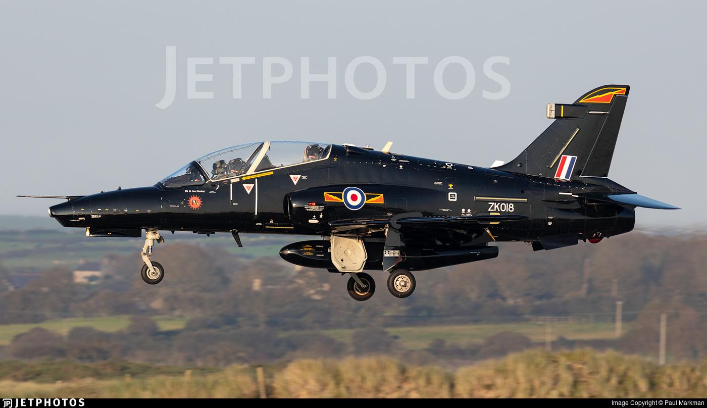 ZK018 - British Aerospace Hawk T.2 - United Kingdom - Royal Air Force (RAF)