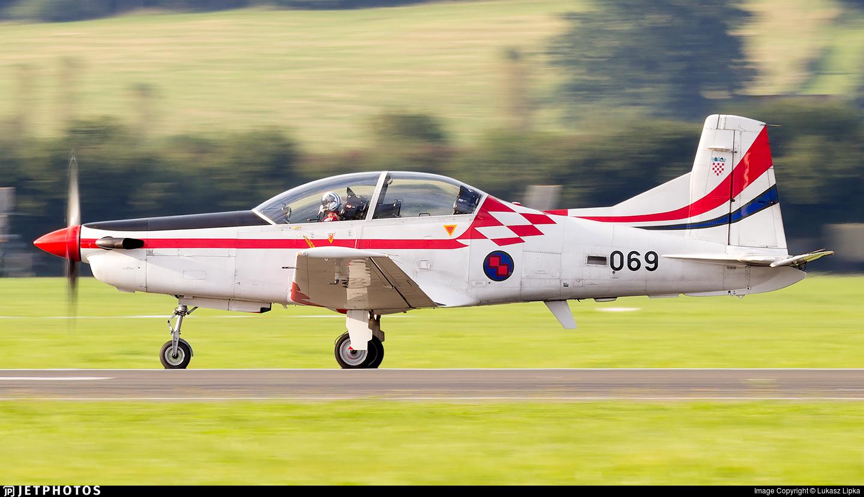 069 - Pilatus PC-9M - Croatia - Air Force