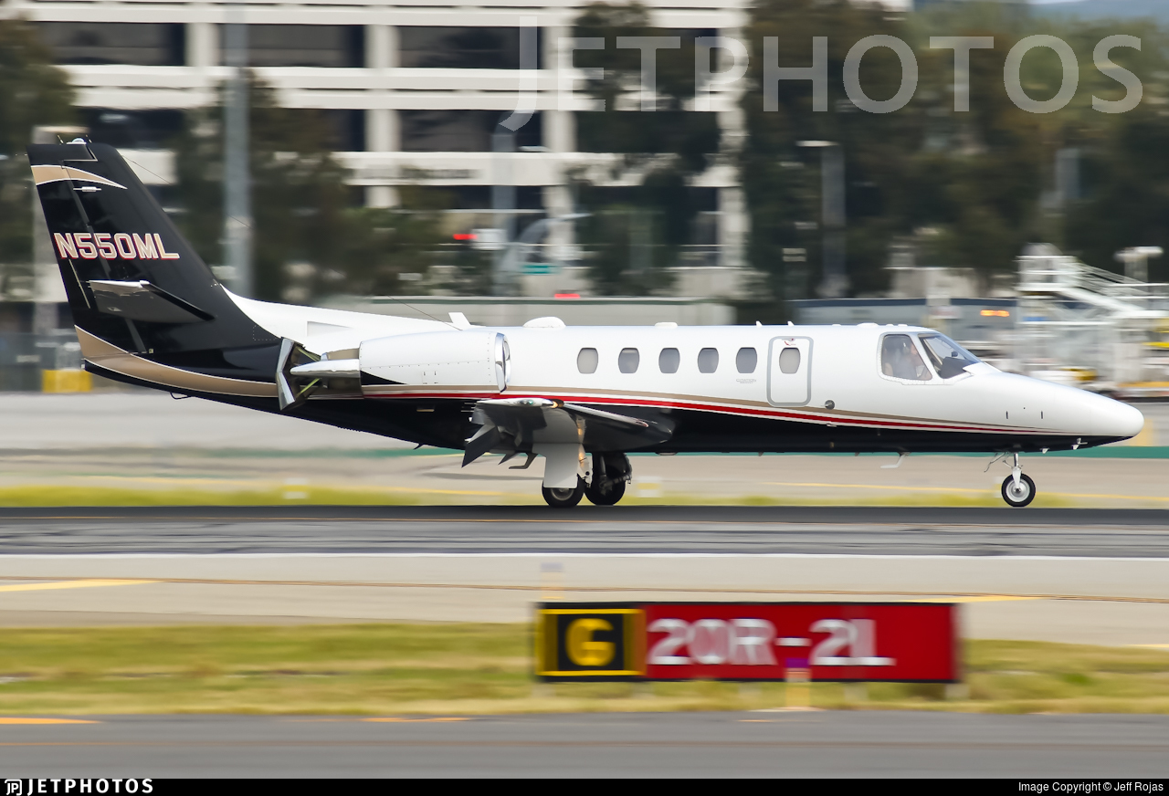 N550ML - Cessna 550B Citation Bravo - Private