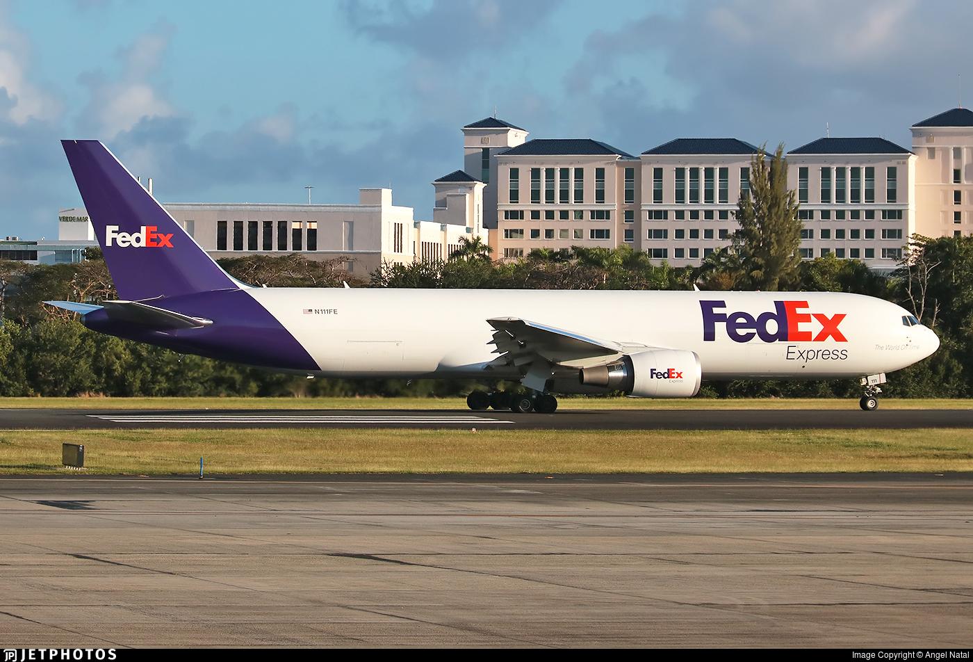 N111FE - Boeing 767-300F(ER) - FedEx