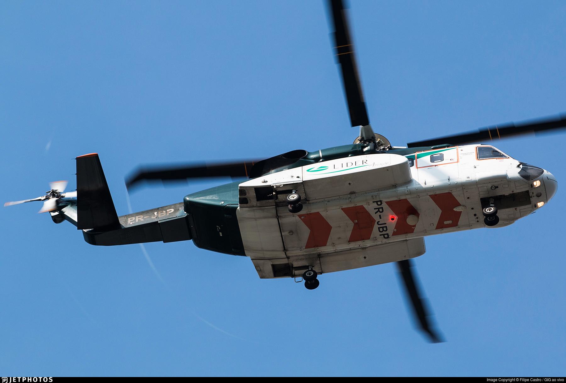 PR-JBP - Sikorsky S-92A Helibus - Líder Táxi Aéreo