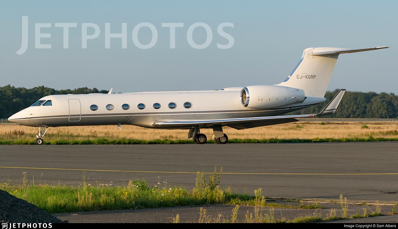 EJ-KGRP - Gulfstream G550 - Gainjet Ireland