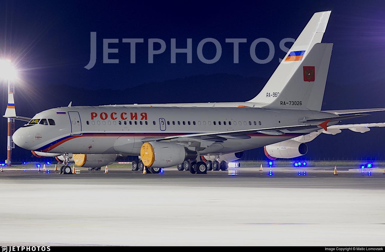 RA-73026 - Airbus A319-115X(CJ) - Rossiya - Special Flight Squadron