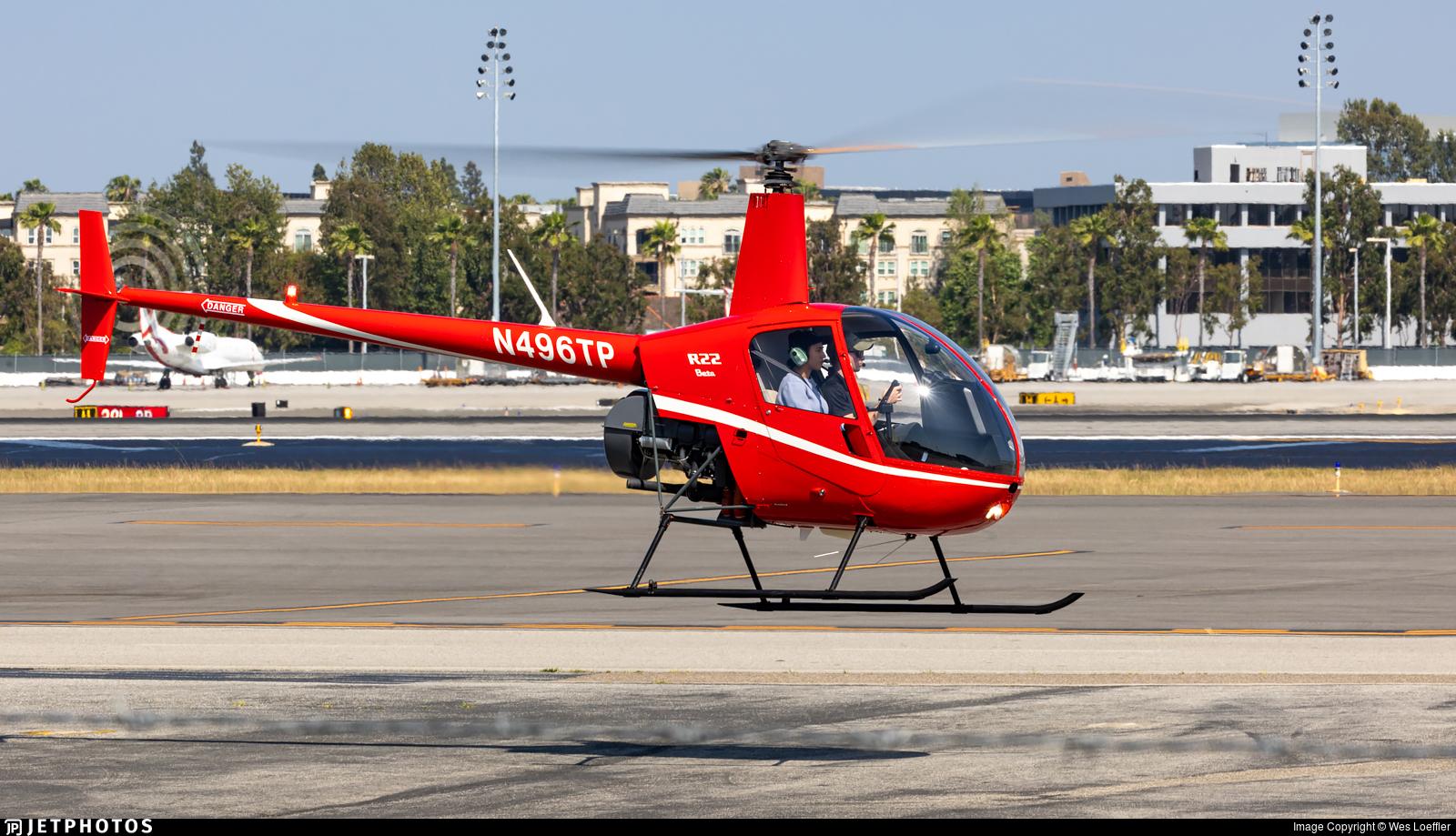 N496TP - Robinson R22 Beta - Private