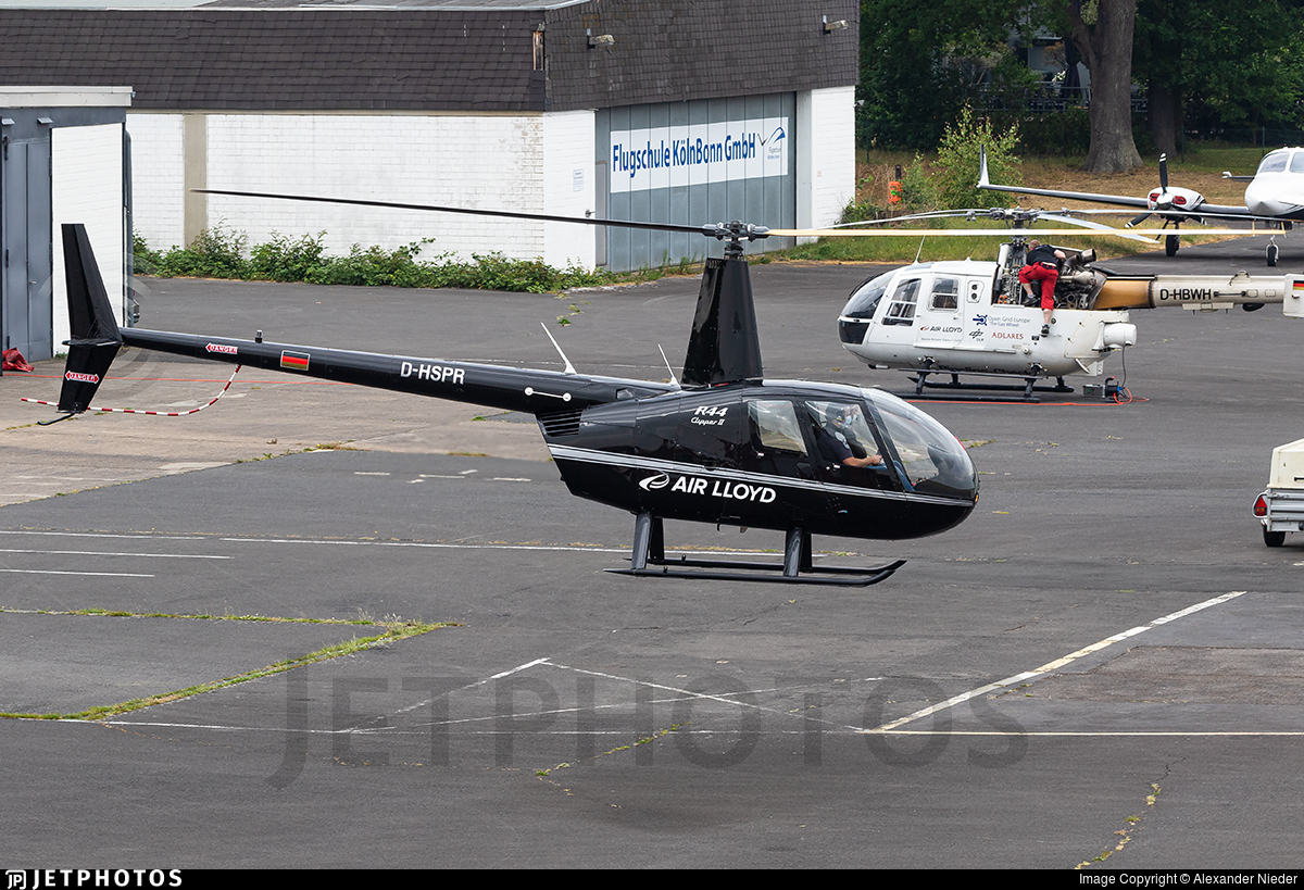 D-HSPR - Robinson R44 Clipper II - Air Lloyd