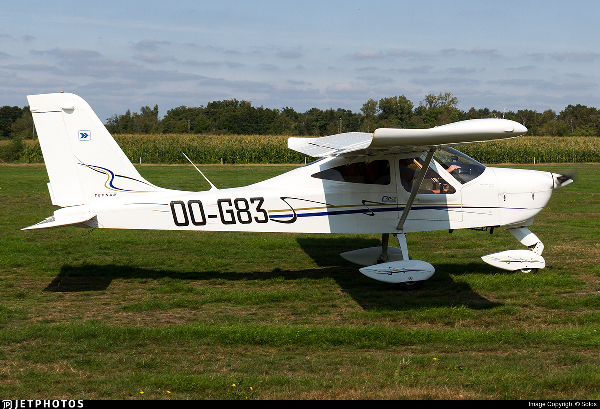 OO-G83 - Tecnam P92 Echo Classic - Private